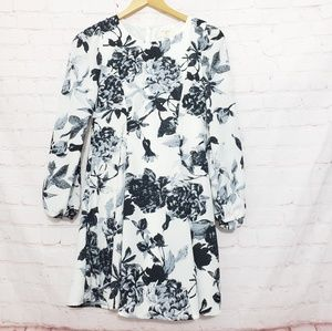 Anthropologie Everly Floral dress